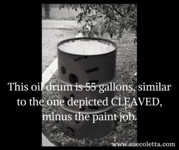 My time spent inside an oil drum