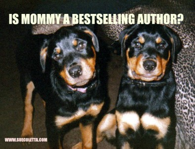 Is Mommy a bestselling author?